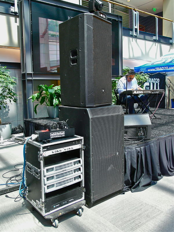 public address speakers